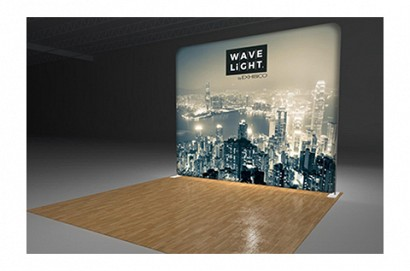 LED Backlit Booth Displays