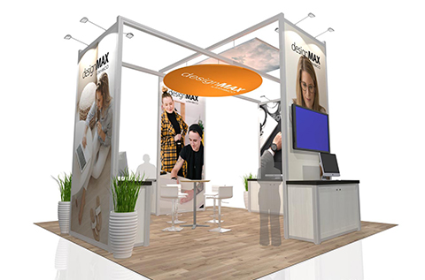 designMAX© Trade Show Displays